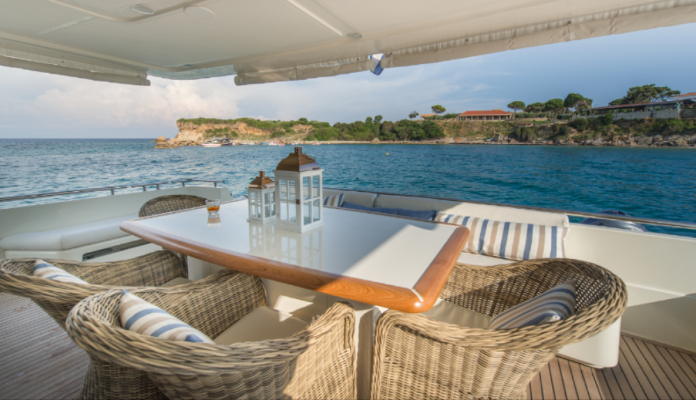 Hire Yacht with or without skipper Ferretti Athens