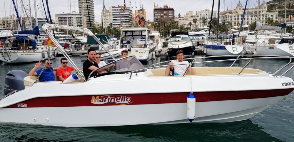 Boat rental Alicante cheap Eden 22