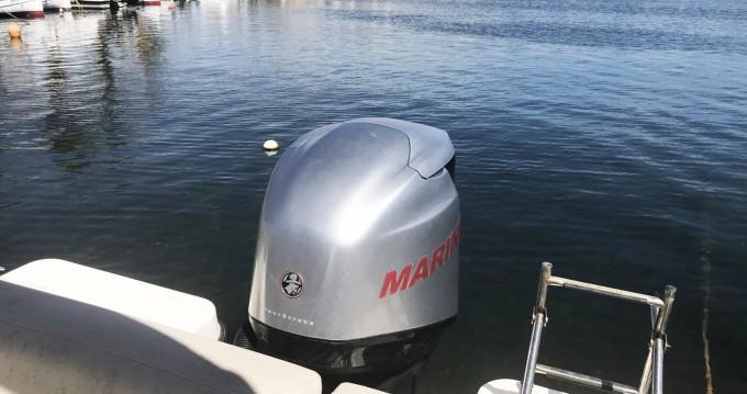 Boat rental Quicksilver Activ 675 Sundeck in Minorca on Samboat