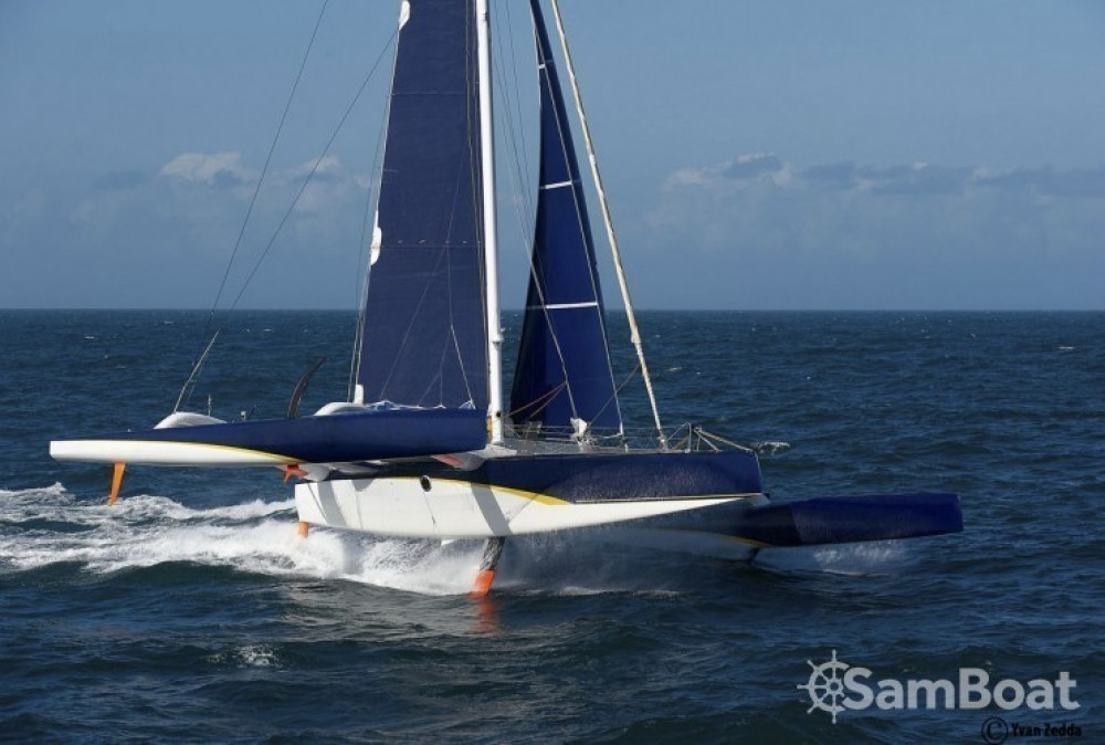 Rental Catamaran Trimaran with a permit