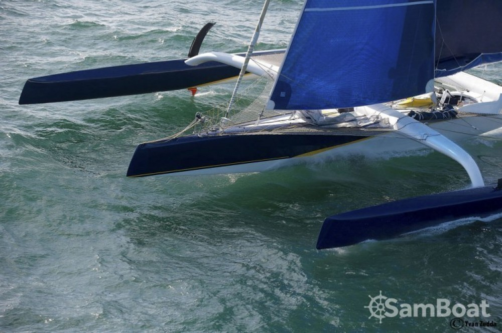 Boat rental Trimaran Prototype course in La Trinité-sur-Mer on Samboat