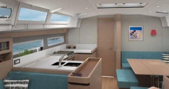Boat rental Paros Island cheap Sun Odyssey 490