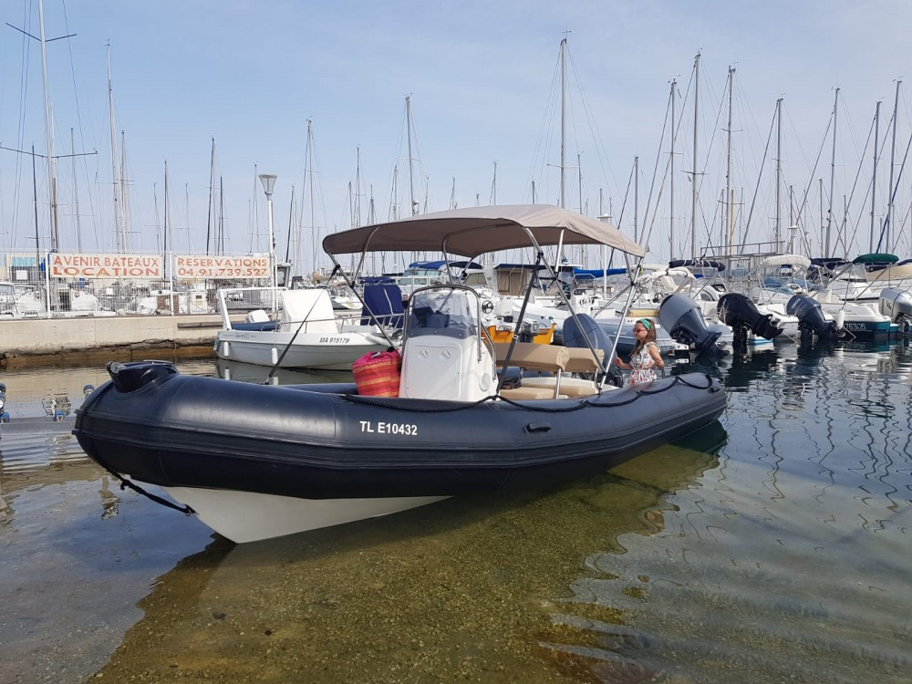 Hire RIB with or without skipper Bombard Marseille