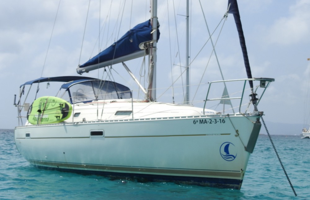 Boat rental Marbella cheap Oceanis 331 Clipper