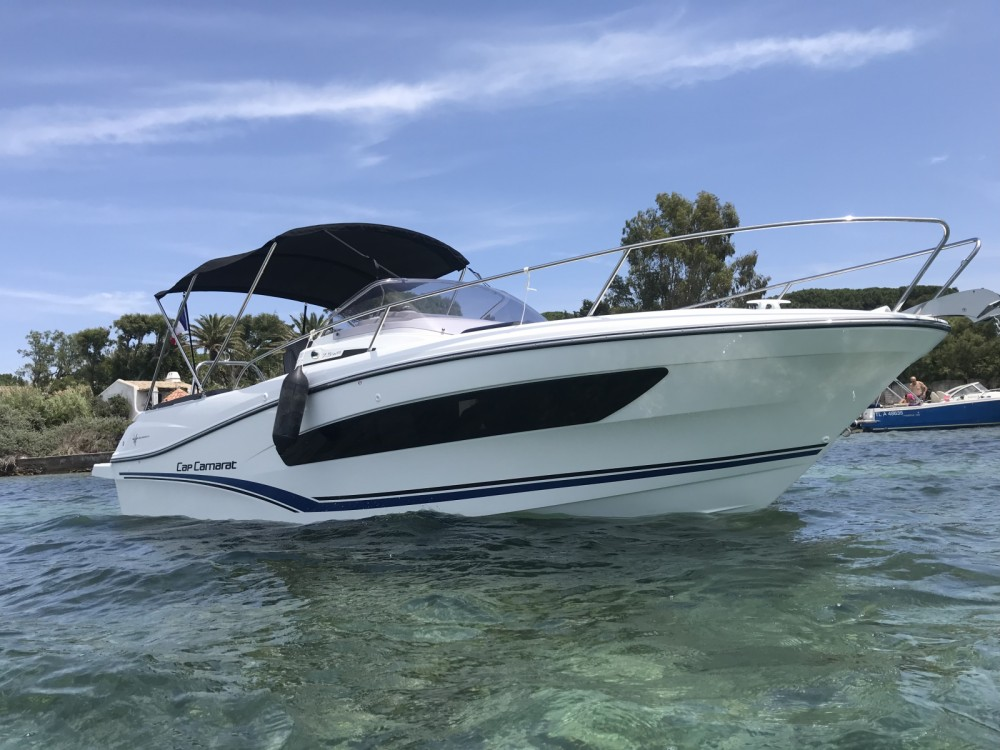 Hire Motor boat with or without skipper Jeanneau Cogolin