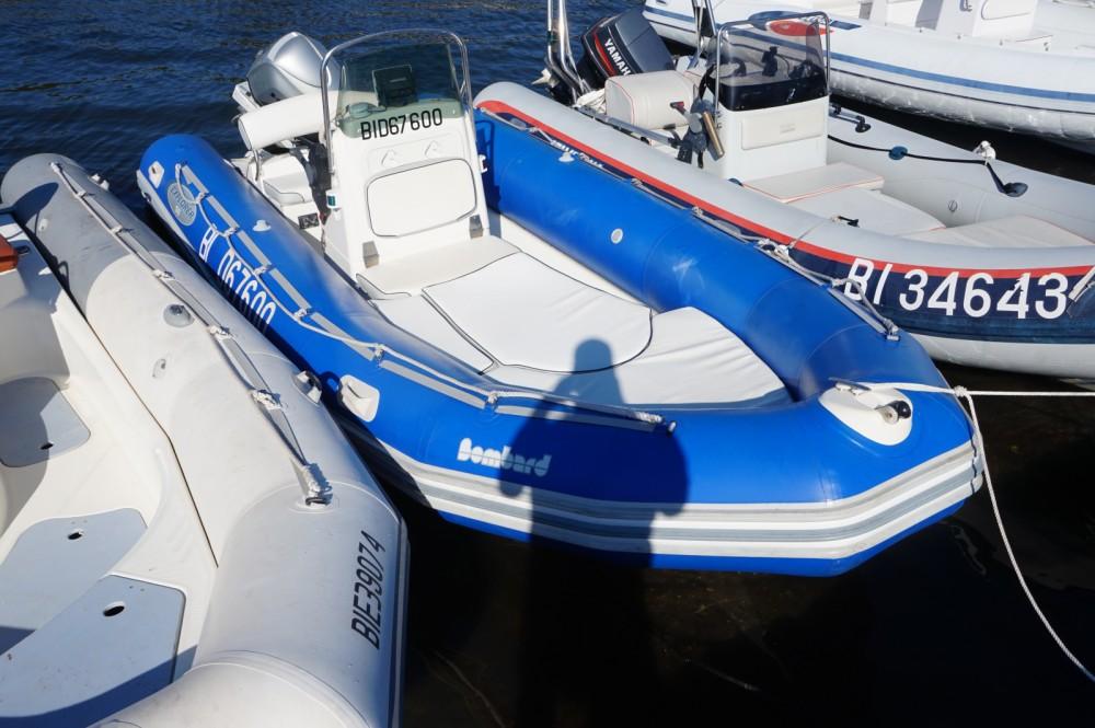 Rental RIB in Saint-Florent - Bombard Explorer 550