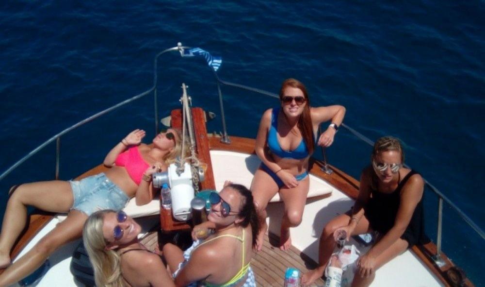 Rental Motorboat in Heraklion - HAMOTON 36