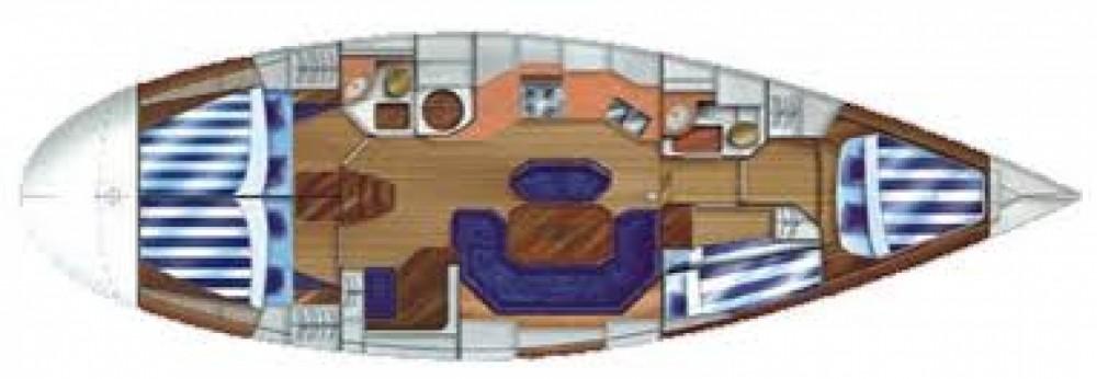 Boat rental Dufour Dufour 45 Classic in Mykonos on Samboat