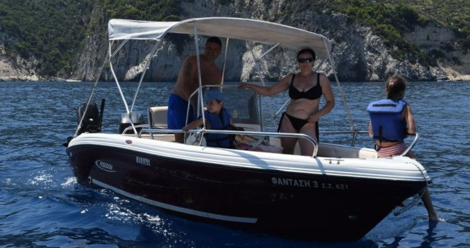 Boat rental Poseidon Poseidon 5 M in Zakynthos (Island) on Samboat