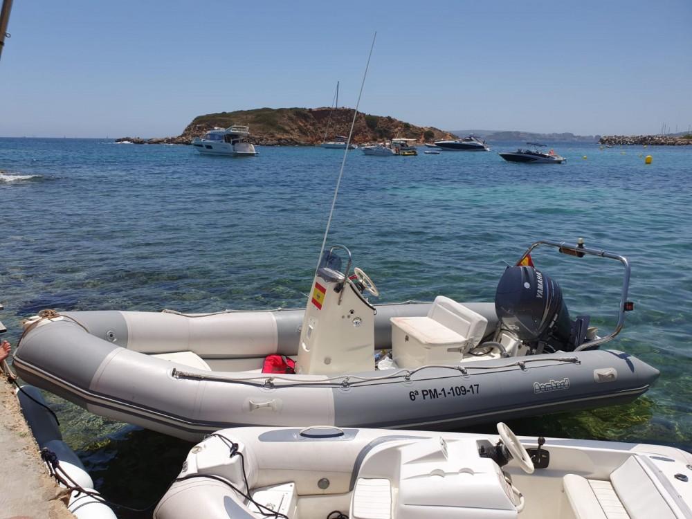 Boat rental Palma cheap Ribster 500