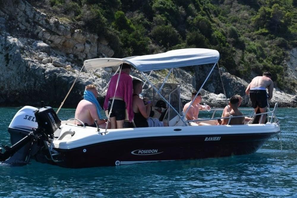 Rental yacht Zakynthos - Poseidon ranieri Soverato 5.40 on SamBoat