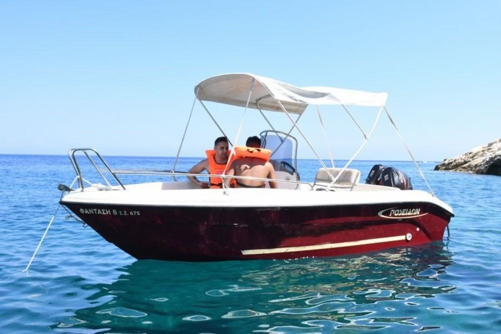 Boat rental Poseidon Bluewater 480 in Zakynthos on Samboat