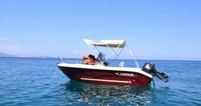 Boat rental Zakynthos (Island) cheap Bluewater 480