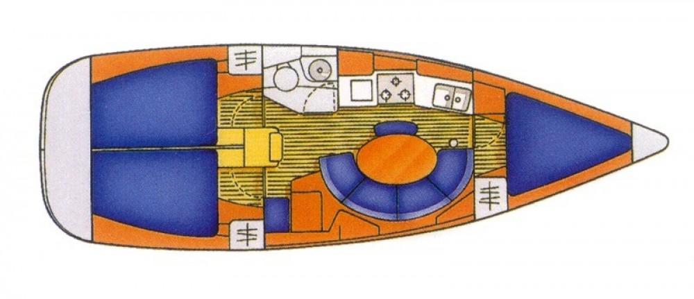 Sailboat for rent Sistiana-Visogliano at the best price