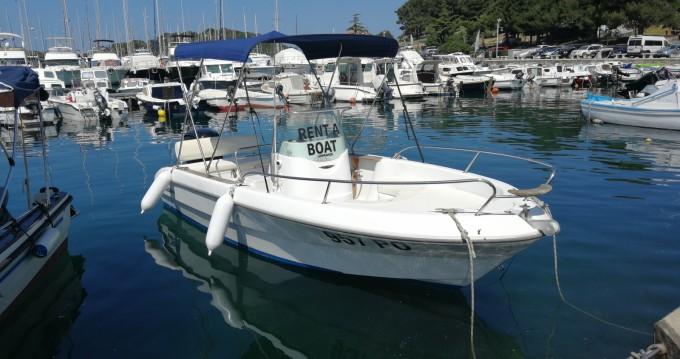 Rental Motorboat in Vrsar - Sessa Marine Key Largo 19