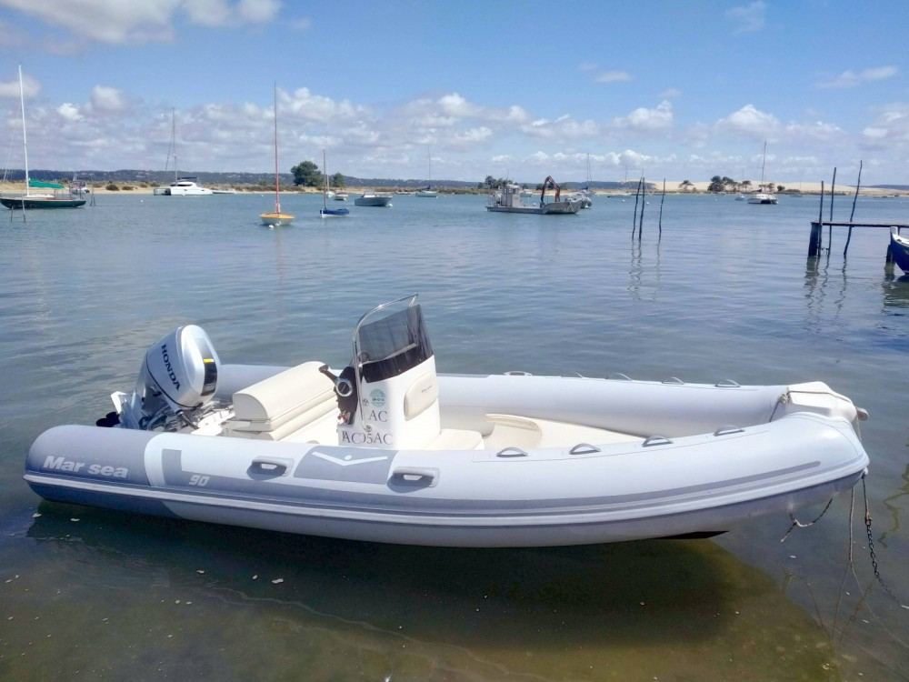 Rental RIB Marsea with a permit