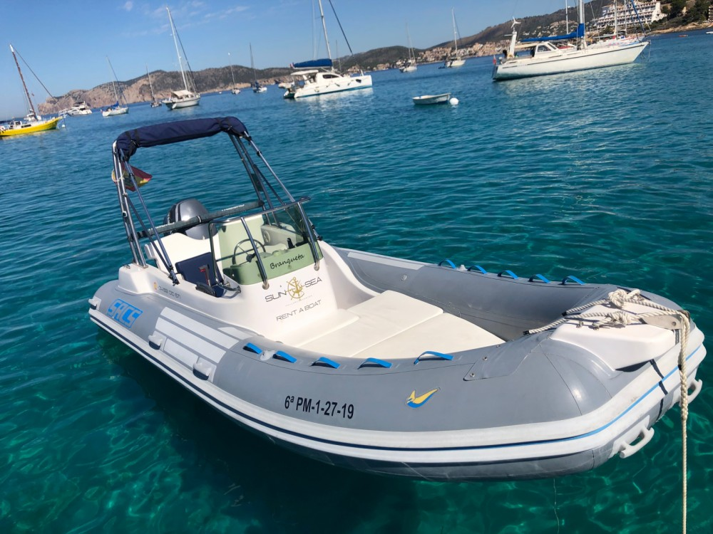 Boat rental Calvià cheap Sacs S 535 Jamaica