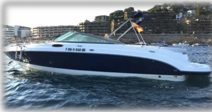 Rental Motorboat in Ibiza Town - Chaparral 256