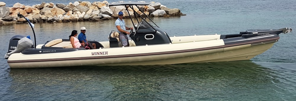 Hire RIB with or without skipper Winner Parikia