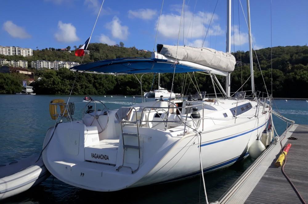 Boat rental Le Marin cheap Cyclade 50.5