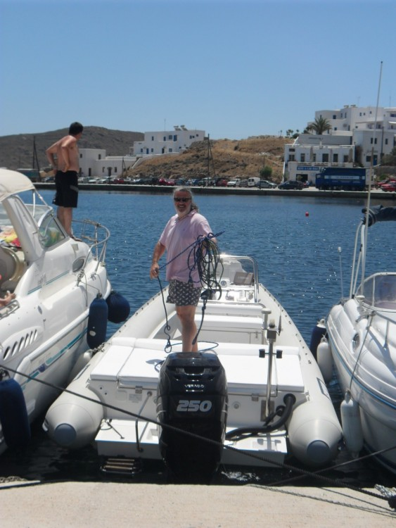 Boat rental Scorpion 27 in Apollonia on Samboat