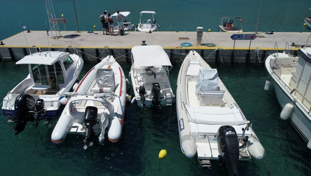 RIB for rent Apollonia at the best price