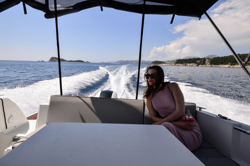Boat rental Dubrovnik cheap Merry Fisher 795