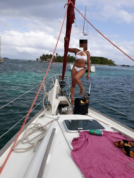 Hire Sailboat with or without skipper Bénéteau Marie-Galante Island