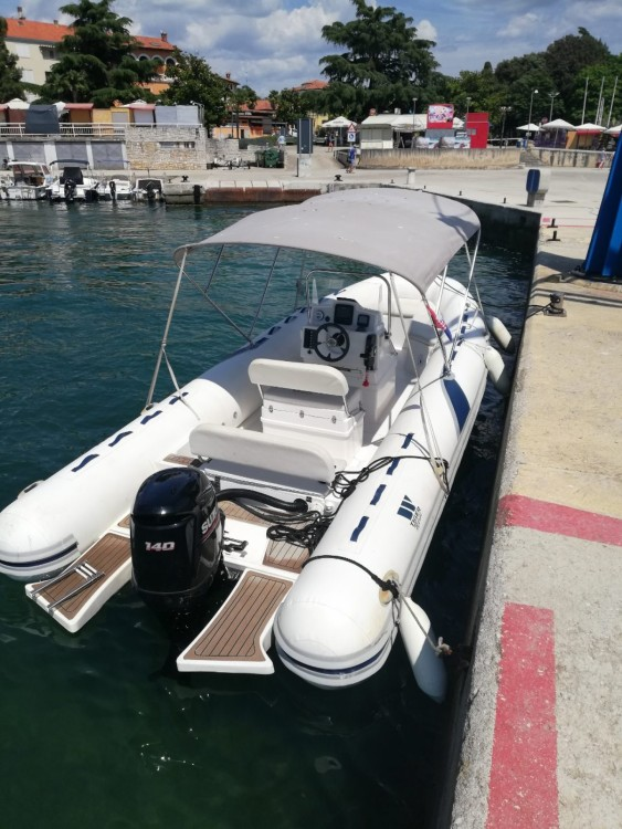 Hire RIB with or without skipper Tiger Poreč