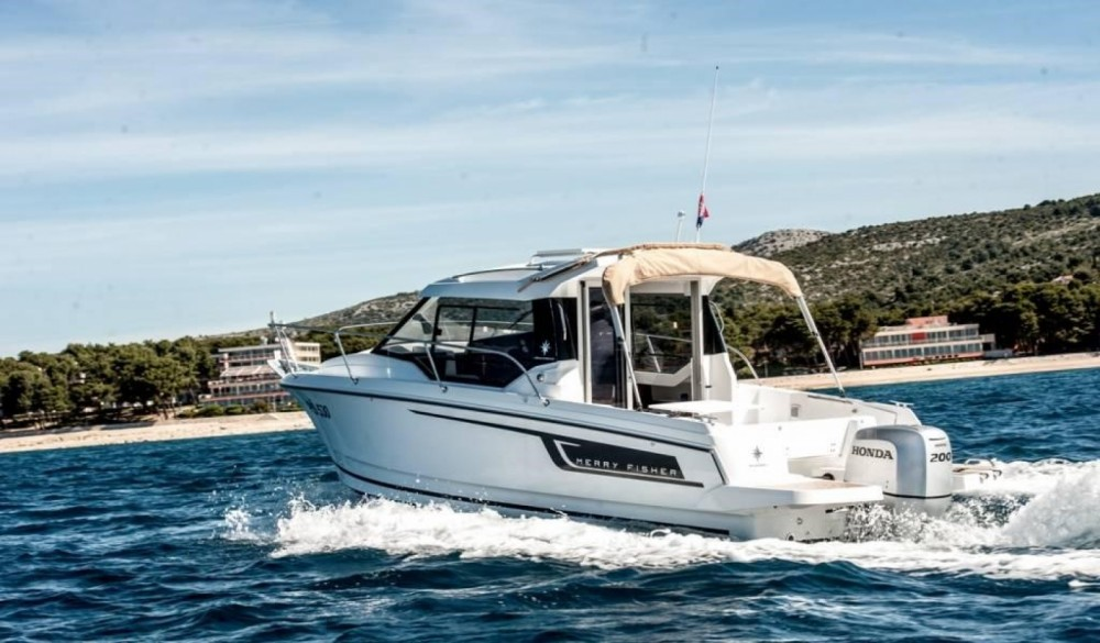 Boat rental Trogir cheap Merry Fisher 795