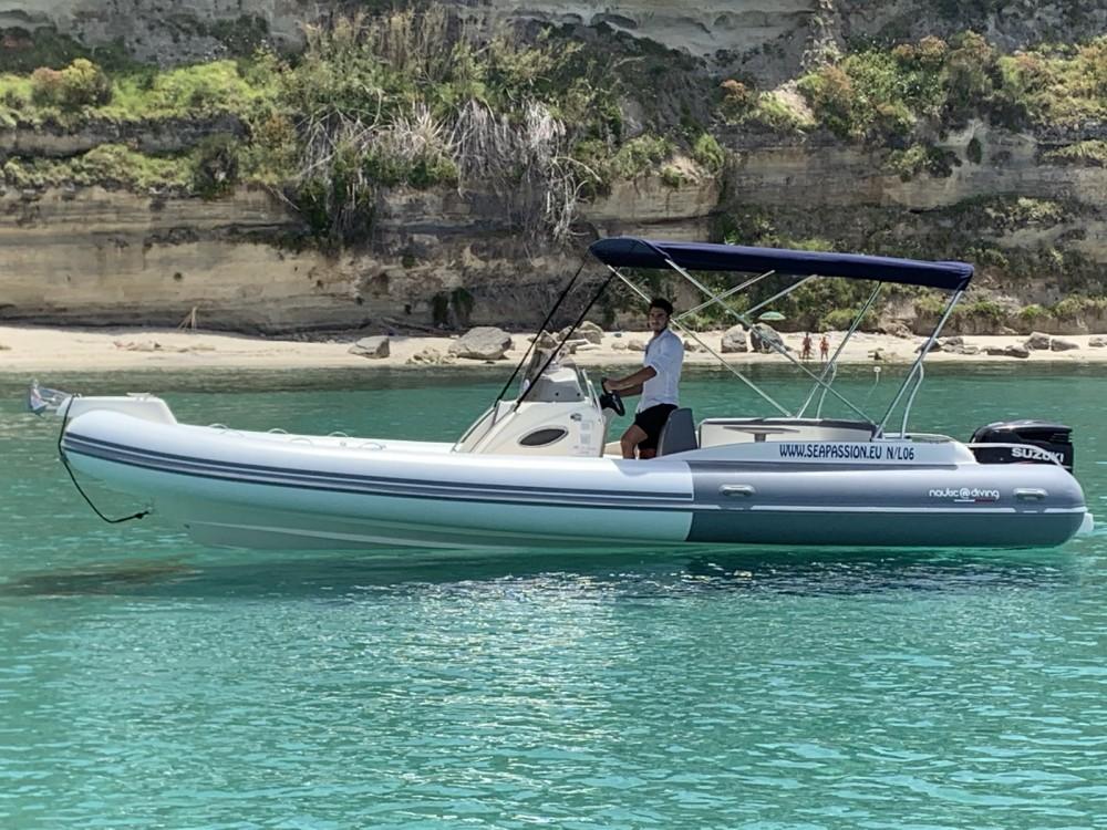 Boat rental Nautica Diving MAESTRALE 8,20 MT in Ricadi on Samboat