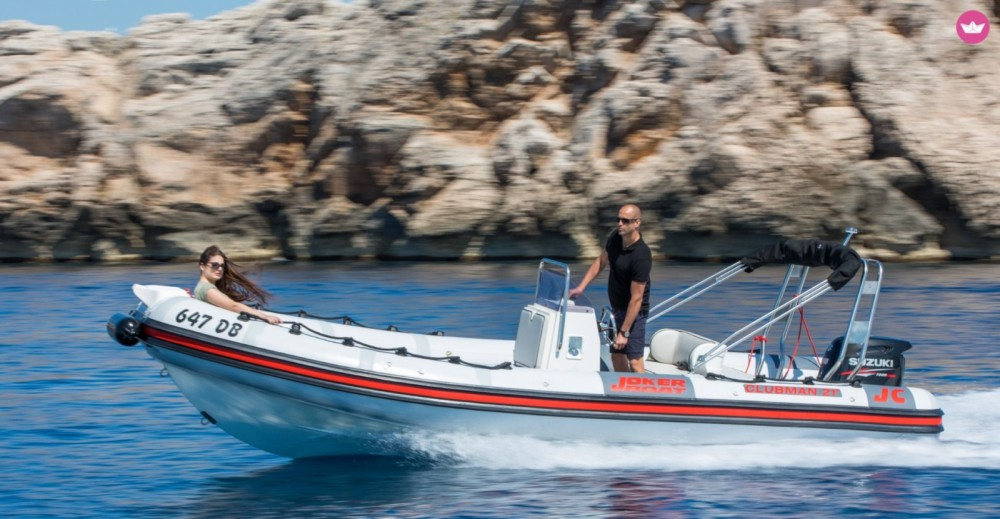 Joker Boat Clubman 21 between personal and professional Dubrovnik