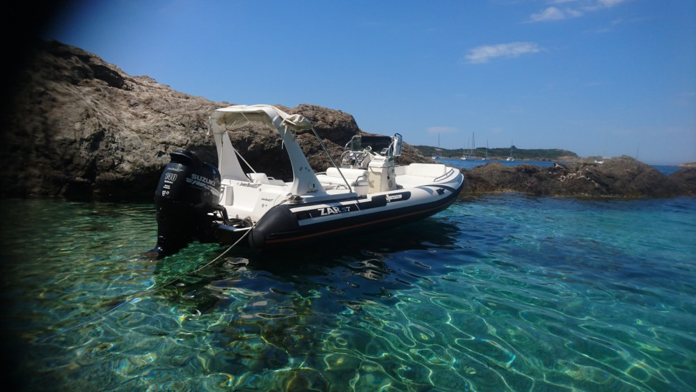Hire RIB with or without skipper Zar Formenti