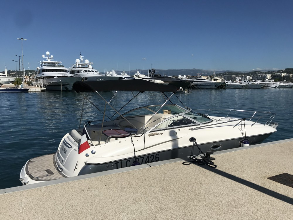 Monterey 250 CR between personal and professional