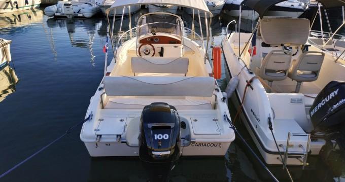 Boat rental Juan-les-Pins cheap RASCALA FUTURAMA 550
