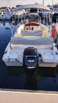Rental Motorboat in Juan-les-Pins - Blu&blu RASCALA FUTURAMA 550