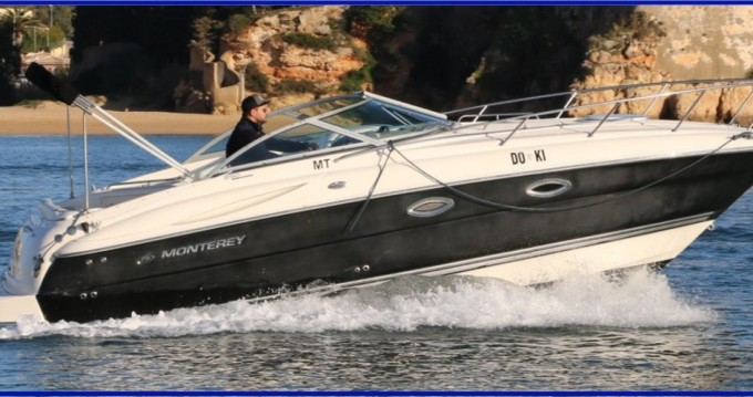 Hire Motorboat with or without skipper Monterey Setúbal