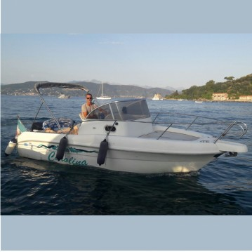 Hire Motorboat with or without skipper Capelli La Spezia