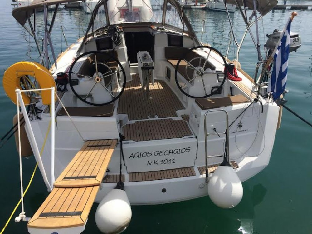 Boat rental Kalafationes cheap Sun Odyssey 389