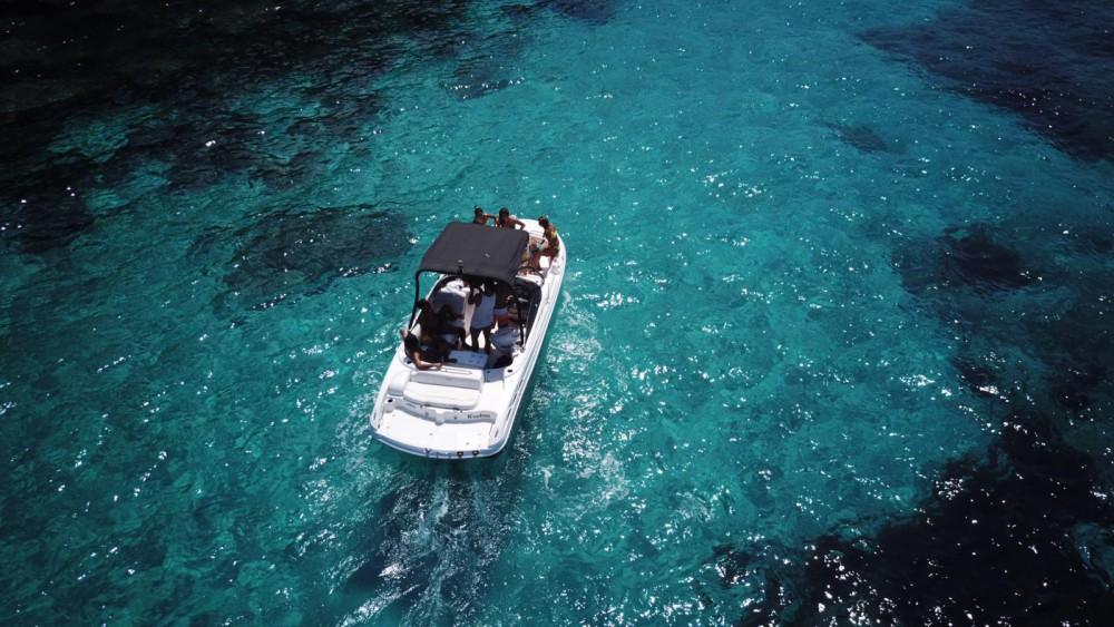 Hire Motorboat with or without skipper ebbtide boats Formentera