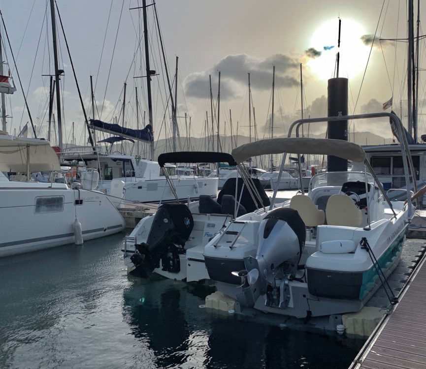 Boat rental Le Marin cheap FLYER 650