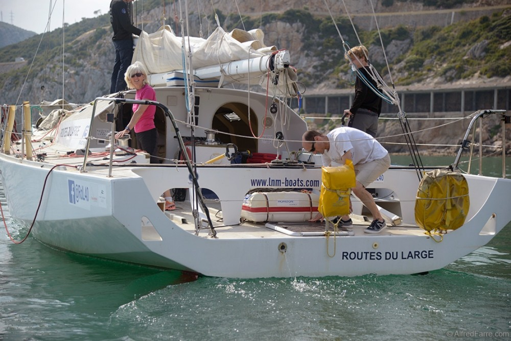 Boat rental Barcelona cheap Classe 40 nº32