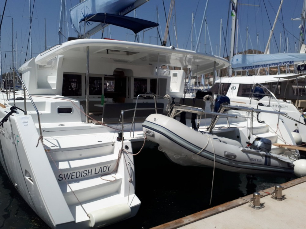 Boat rental Balearic Islands cheap Lagoon 450 F - 4 + 2 cab.