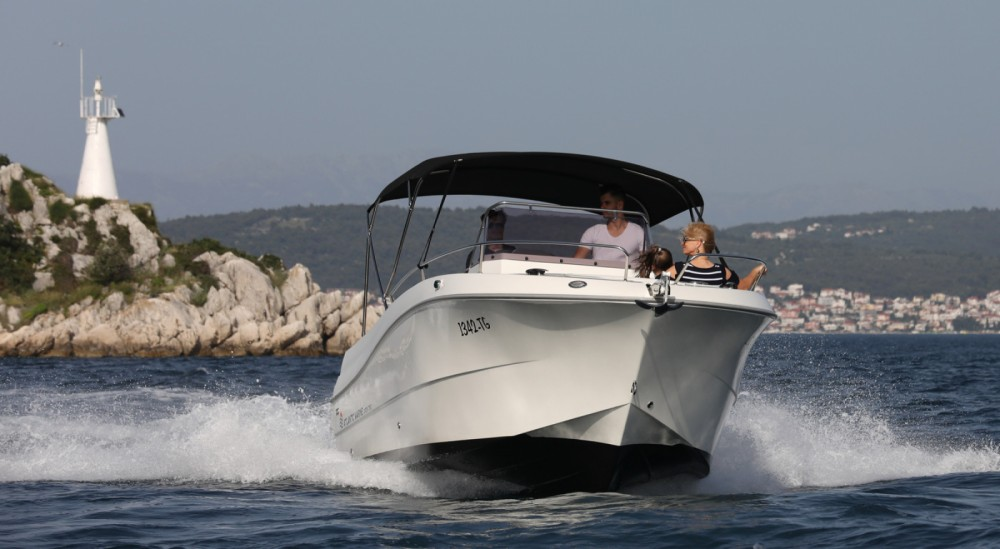 Boat rental Trogir cheap atlantic 750