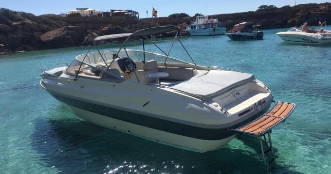 Rental Motorboat in San Antonio Port - Cranchi Turchese 24