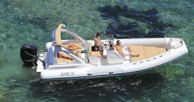 Boat rental Sacs Sacs S 25 Dream in Ibiza Town on Samboat