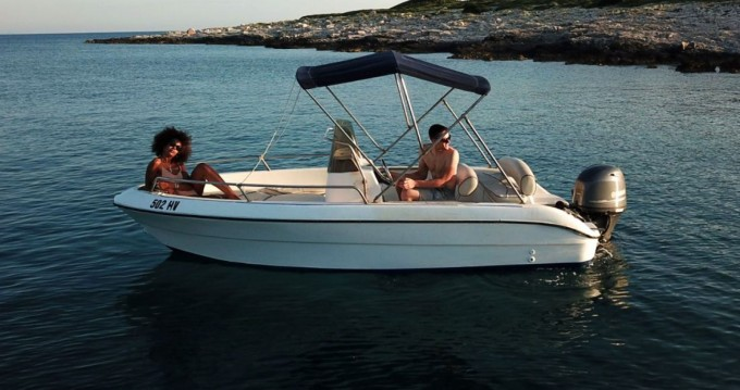Hire Motorboat with or without skipper Fisher Key  Hvar