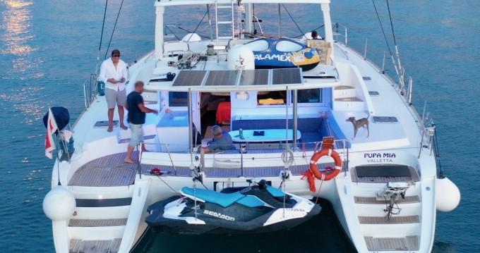 Catamaran for rent Ta' Xbiex at the best price