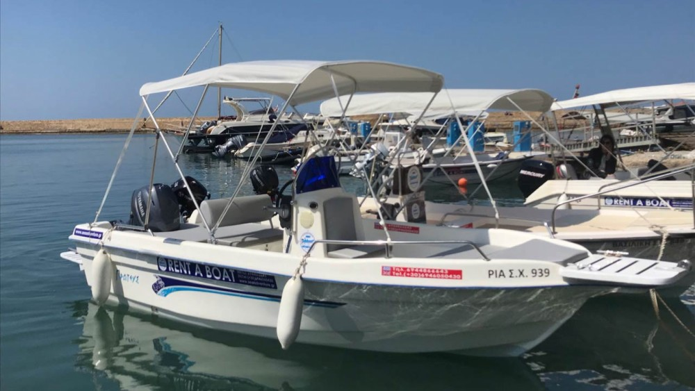 Boat rental Proteus 512 in Chania Municipality on Samboat