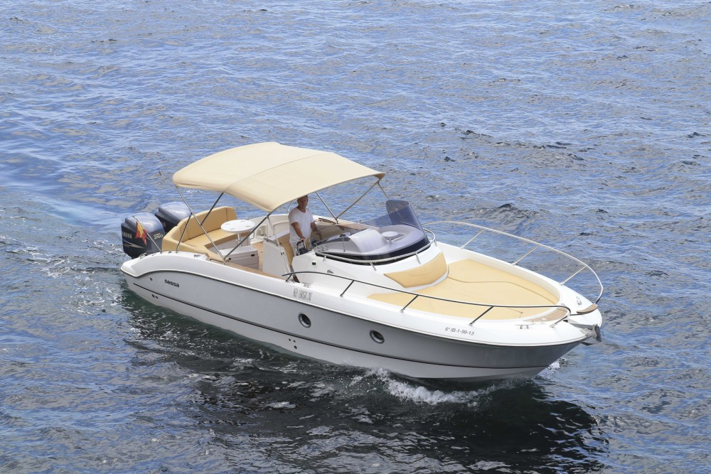 Hire Motorboat with or without skipper Sessa Marine Balearic Islands